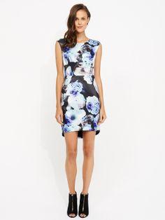 Lulu Floral Structured Dress | Portmans