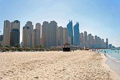 Dubai Jumeirah Beach #JBR #hotels #holidays #places #beach #videos #guides  www.travallworld.tv