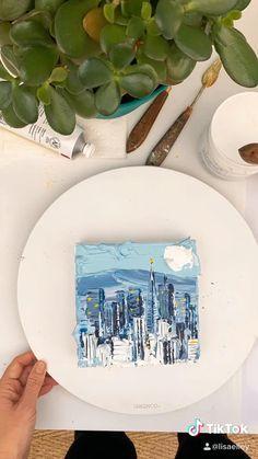 Surealism Art, Arte Sketchbook, Aesthetic Painting, Wow Art, Diy Canvas Art, Acrylic Art, Art Tutorials, Van Gogh, Lovers Art