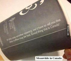 Meanwhile in the great north of canada!
