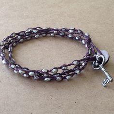 Three loop bracelet
