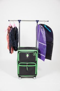 Dance Bag With Garment Rack Simple How To Make Your Own Rolling Dance Bag With Garment Rack  Garment Review