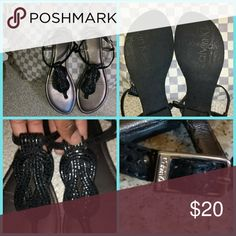 Spotted while shopping on Poshmark: Calvin Klein Thong sandals! #poshmark #fashion #shopping #style #Calvin Klein #Shoes