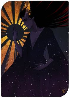 Commission : Tarot Card (Tiefling) by AlexielApril.deviantart.com on @DeviantArt