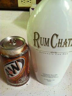 This was an amazing pick me up this past weekend :) Rum Chata and Root Beer... adult root beer float!