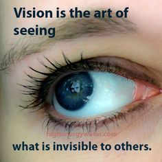 If you look very closely, and your vision is good, you will see something that's invisible to others.