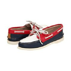 RED/WHITE Sperry Top-Sider  http://www.shoe.net/women/sperry-top-sider/a-o-2-eye/11020/43907/294/detail.html