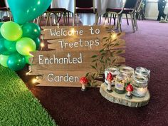 I planned and decorated the hall and this is how it turned out #EnchantedForest #EnchantedGarden