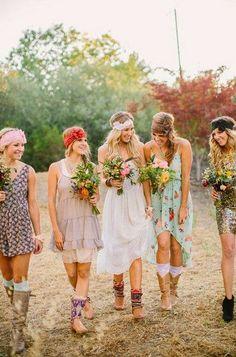 [WEDDING PLANNING] Demoiselles d'honneur : #bridesmaids #dress #inspiration #tips
