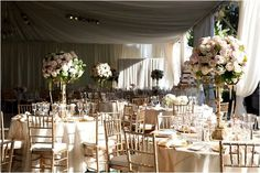 Luxe Featured Wedding with a Romantic Wedding Color Palette of Ivory, Champagne, and Blush | OneWed