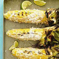 Caribbean-Style Grilled Corn x