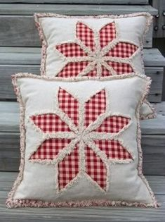 Country 8 Point Star Reverse Applique Pillow Cover E Pattern PDF : Primitive Country 8 Point Star Reverse Applique Pillow Cover E Applique Pillows, Sewing Pillows, Diy Pillows, Decorative Pillows, Primitive Pillows, Primitive Bedroom, Primitive Lamps, Primitive Antiques, Country Primitive
