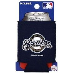 Milwaukee Brewers MLB Can Kaddy Cooler