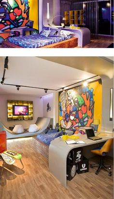 Skateboard Bedroom Design Ideas  (3)