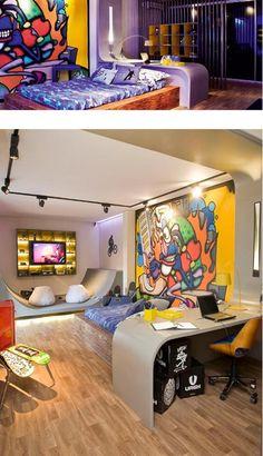 Image detail for -Skateboard Bedroom Decor for Boys | Home interior design  | Boys room | Pinterest | Boys,