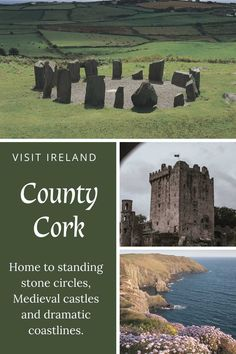 Learn all about the sites and history of this southernmost Irish county. Ireland Beach, Ireland Travel, Great Places, Places To See, Amazing Places, Ireland People, Backpacking Ireland, Ireland Culture, Ireland Hotels