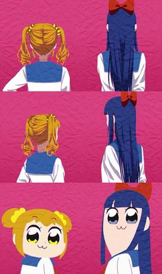 Pop Team Epic, Popuko y Pipimi Manga Anime, Me Anime, Kawaii Anime, Anime Art, Itachi, Anime Was A Mistake, Card Captor, Fanart, Estilo Anime