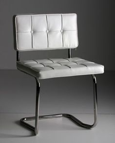 Bauhaus chair white  #productdesign #furniture #chair
