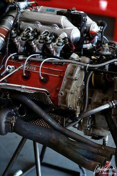 1986 Ferrari V-6 Turbo Formula 1 - from the Cahier Archive via Motorsport Retro