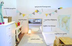 Πώς να φτιάξω το δωμάτιο του μωρού