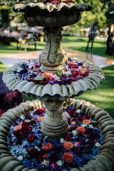 Moody Jewel Tone Wedding at The Houdini Estate Jewel Tone Colors, Jewel Tones, Forest Wedding, Wedding Art, Jewel Tone Wedding, Wedding Colors, Hacienda Wedding, Wedding Decorations, Decor Wedding