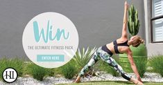 Win the ultimate fitness pack from Harmony Inspired Activewear!