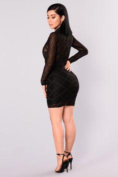 Karinna Bandage Dress - Black