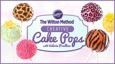 Make gorgeous cake pops that can't be topped! Learn dazzling decorating techniques: marbling, brush embroidery, triple dipping, piping and more. - via @Craftsy