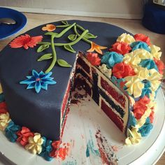 Now that's a snazzy cake. Beautiful Cakes, Amazing Cakes, Oslo, Sweet Recipes, Cake Recipes, Nordic Diet, Norwegian Food, Norwegian Recipes, European Cuisine
