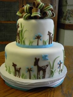 Baby Deer Cake Bambi By Steel Penny Cakes