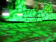 Projection lumineuse avenue de la Libération. Noémie BSG. Fair Grounds, Fun, Travel, Design, Light Fixture, Viajes, Destinations, Traveling