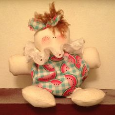 Hand made doll by Shannon