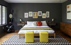 Casa dos anos 1960 recebe banho de cor