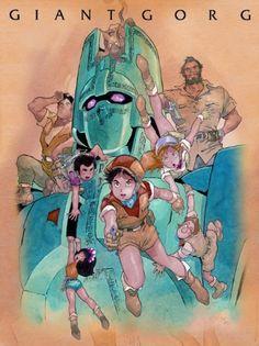Giant Gorg DVD box art.