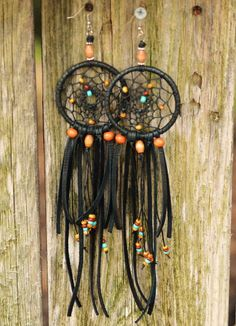 Dreaming Of An Endless Summer// A Pair Of Dreamcatcher Earrings by TurquoiseCrush on Etsy https://www.etsy.com/listing/103254640/dreaming-of-an-endless-summer-a-pair-of