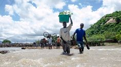 Floods, cyclones, wildfires, heat waves, earthquakes and landslides made 2015 a devastating year for a lot of people around the world. We take a look at some of the worst natural disasters of the past year. People Around The World, Around The Worlds, Flooded House, Water Damage, Natural Disasters, The Guardian, Ecology, Nature Photography, The Past