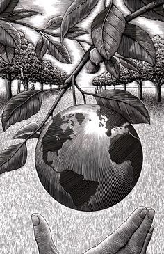Awesome Illustrations by Douglas Smith