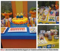 Cumpleaños muy especiales: Decoración Fiesta Cumpleaños Mi Villano Favorito M...