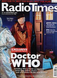 Radio Times Doctor Who 40th Anniversary Covers - Retronaut
