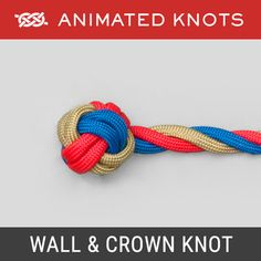 Learn how to braid, tie a Monkey's Fist, Chain Sinnet, Celtic Knot and a Turk's Head (Woggle) - and many more decorative knots. Paracord Knots, Rope Knots, Quick Release Knot, Splicing Rope, Animated Knots, Scout Knots, Lanyard Knot, Survival Knots, Knots Guide