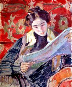 Lezen in de kunst