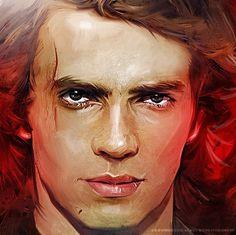 Anakin Skywalker Star Wars  Vintage! by Vlad Rodriguez, via Behance