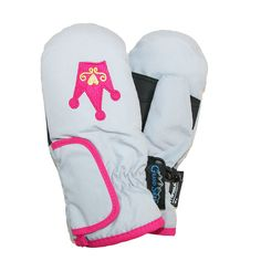 Grand Sierra Toddlers Girls  2-4 Embroidered Waterproof Mittens 9b8f9a72c5ad