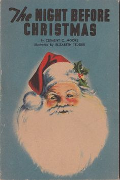 The Night Before Christmas Clement Moore 1938 by Carrollonline, $15.00