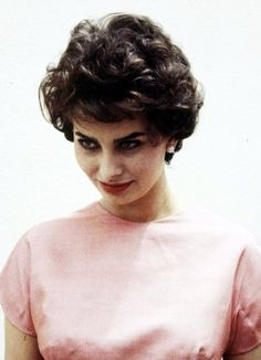 Sophia Loren - to this day try to get this haircut....love it.