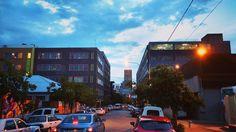 #Johannesburg by night. #Maboneng #SouthAfrica