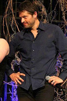 Misha Collins on Pinterest | Castiel, Supernatural and This Man