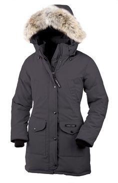 Canada Goose Women Gray Trillium Parka CAD338.31 www.downjacketche...