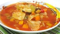 What is Cabbage Soup Diet? Cabbage soup diet is a fad diet which is based on a so-called fat-burning cabbage soup, as well as a very strict diet plan. The cabbage soup is said to have&nb… 7 Day Cabbage Soup Diet, Cabbage Soup Recipes, Diet Soup Recipes, Healthy Recipes, Good Healthy Snacks, Cooking Recipes, Stay Healthy, Original Cabbage Soup Recipe, General Motors Diet