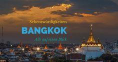 Die besten Sehenswürdigkeiten Bangkok: Alle wichtigen Sehenswürdigkeiten in Bangkok auf einen Blick. Informationen zu Anreise und Standort der Attraktionen
